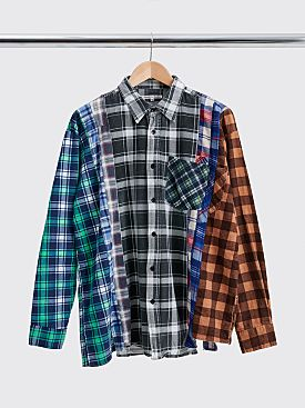 Rebuild by Needles 7 Cuts Flannel Shirt Size XL
