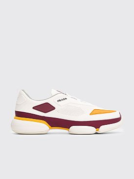 Prada Cloudbust Sneakers White / Burgundy