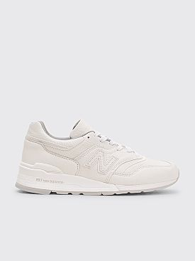 New Balance M997 Bison White