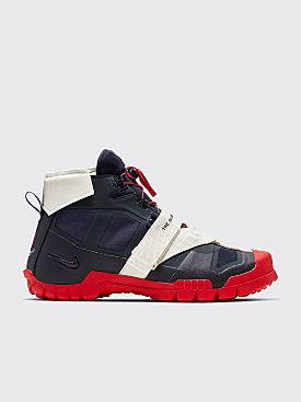 NikeLab x Undercover SFB Mountain Boots Obsidian / Red
