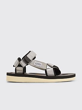 Suicoke Depa V2 Velcro Strap Sandals Grey