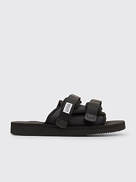 Suicoke Moto Cab Sandals Black