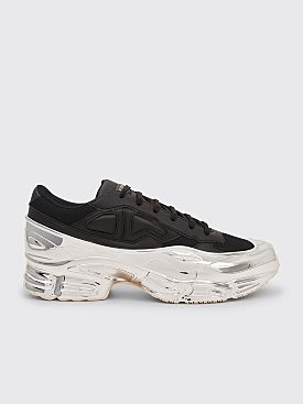best website 8e931 27103 adidas x Raf Simons RS Ozweego Core Black   Chrome