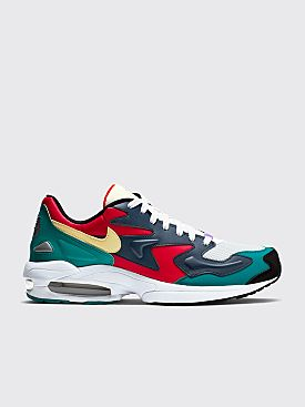 Nike Air Max2 Light Habanero Red / Armory Navy
