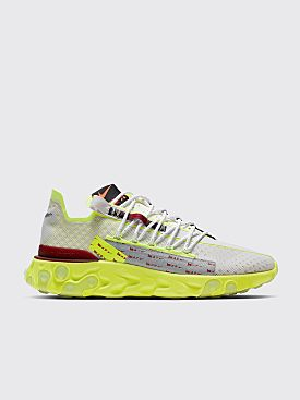 Nike ISPA React Platinum Tint / Team Red