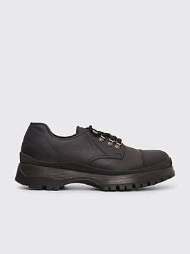 Prada Brixxen Leather Shoes Black