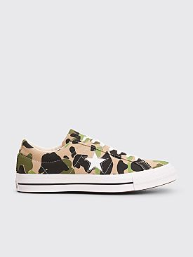 Converse One Star Ox Archive Print Duck Camo Candied Ginger