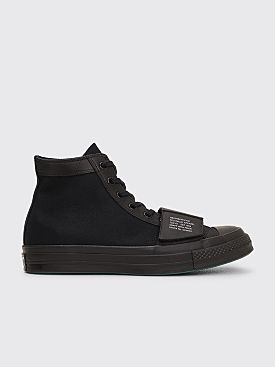 Converse x Neighborhood Chuck 70 Moto Hi Black