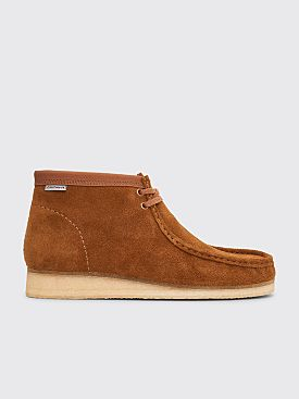 Clarks Originals x Carhartt WIP Wallabee Boots Suede Brown