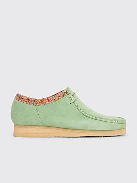 Clarks Originals x Stüssy Wallabee Suede Sage