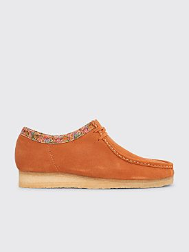 Clarks Originals x Stüssy Wallabee Suede Rust