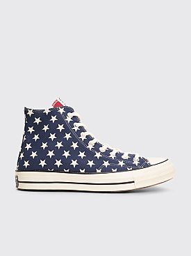 Converse Chuck 70 Hi Archive Restructured Blue Red