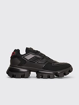 Prada Cloudbust Thunder Knit Sneakers Black