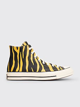 Converse Chuck 70 Archive Print Leather Hi Vivid Sulfur