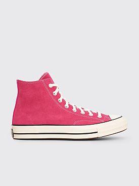 Converse Chuck 70 Suede Hi Prime Pink