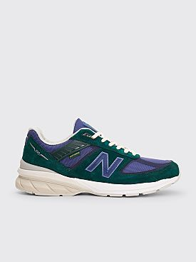 New Balance x Aime Leon Dore M990V5 Green / Purple