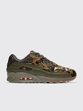 Nike Air Max 90 Cargo Khaki / University Red