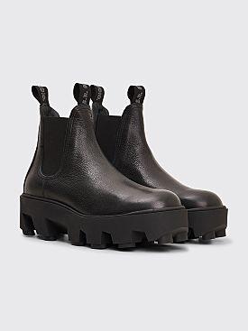 S.R. STUDIO LA. CA. Therapist Leather Slip On Boot Black
