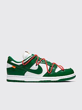 Nike x Off-White Dunk Low White / Pine Green