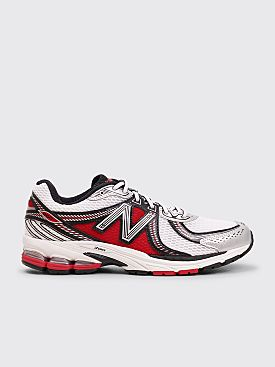 New Balance ML860V2 Silver / Red