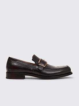 Dries Van Noten Buckled Loafers Black