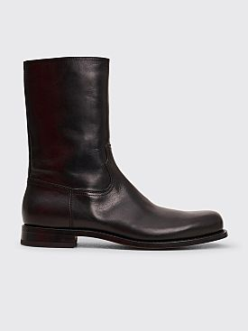 Dries Van Noten Half Boots Black