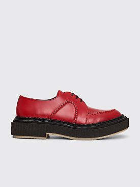 Adieu Type 133 Polido Derby Shoes Deep Red