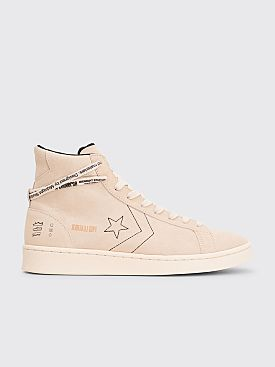 Converse x Midnight Studios Pro Leather Mid White / Egret
