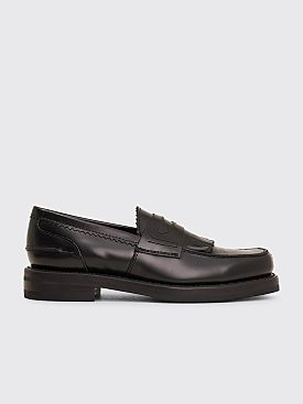 Our Legacy Leather Loafer Black