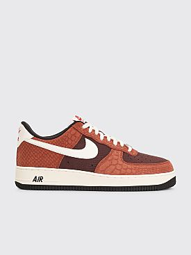 Nike Air Force 1 PRM Red Bark