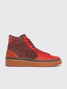 Converse Pro Leather Hi Fiery Scarlet