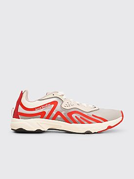 Acne Studios Ripstop Technical Trainers White / Red