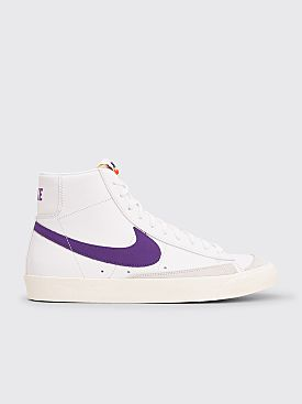 Nike Blazer Mid 77 Vintage White / Voltage Purple