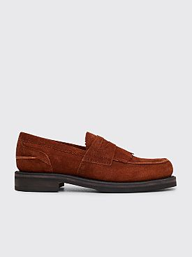 Our Legacy Suede Loafer Brown