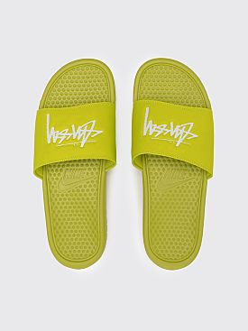 Nike x Stüssy Benassi Bright Cactus