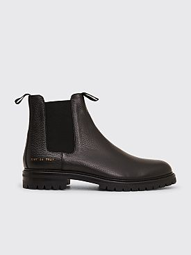 Common Projects Winter Chelsea Bumpy Shoes Black