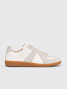Maison Margiela Replica Low Top Sneakers Off White