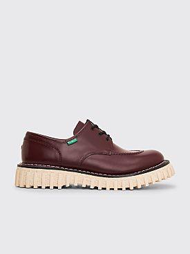 Adieu x Kickers Aktive Derby Shoes Bordeaux