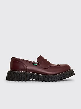 Adieu x Kickers Aktuelle Loafers Bordeaux