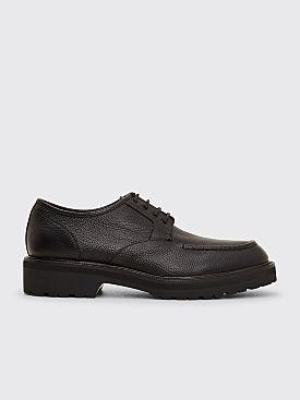 Dries Van Noten Leather Derby Shoes Black