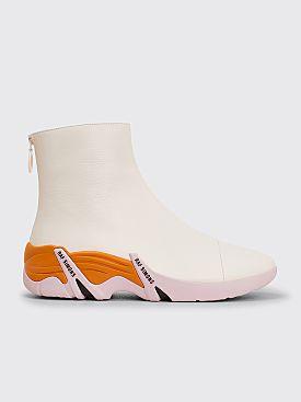 Raf Simons Runner Cylon Boots White