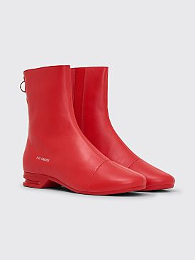 Raf Simons Runner 2001-2 High Boots Red