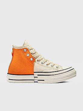 Converse x Feng Chen Wang 2-in-1 Chuck 70 Persimmon Orange / Ivory