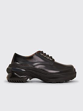 Maison Margiela Brushed Derby Shoes Black