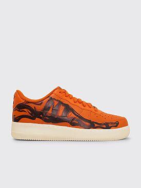 Nike Air Force 1 '07 Skeleton QS Orange