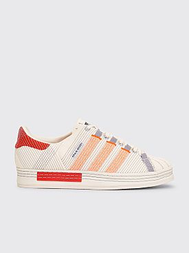 adidas x Craig Green Superstar Off White / Bright Red