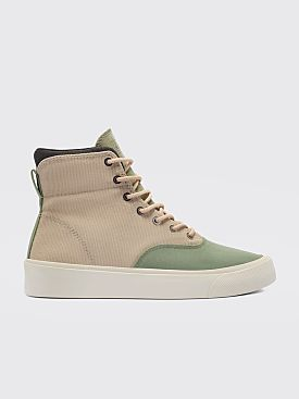 Converse Jungle Cloth Skid Grip Hi Safari / Biscotti