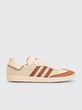 adidas Originals by Wales Bonner Samba Cream White / Brown