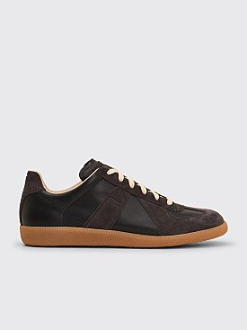 Maison Margiela Replica Low Top Sneakers Black