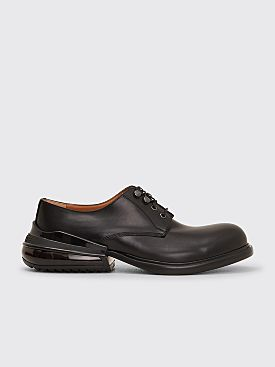 Maison Margiela Leather Derby Shoes Air Bag Heel Black